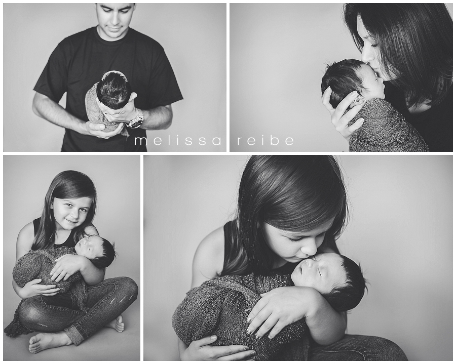 family and newborn photos
