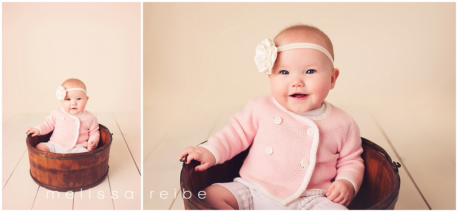 six month baby pictures