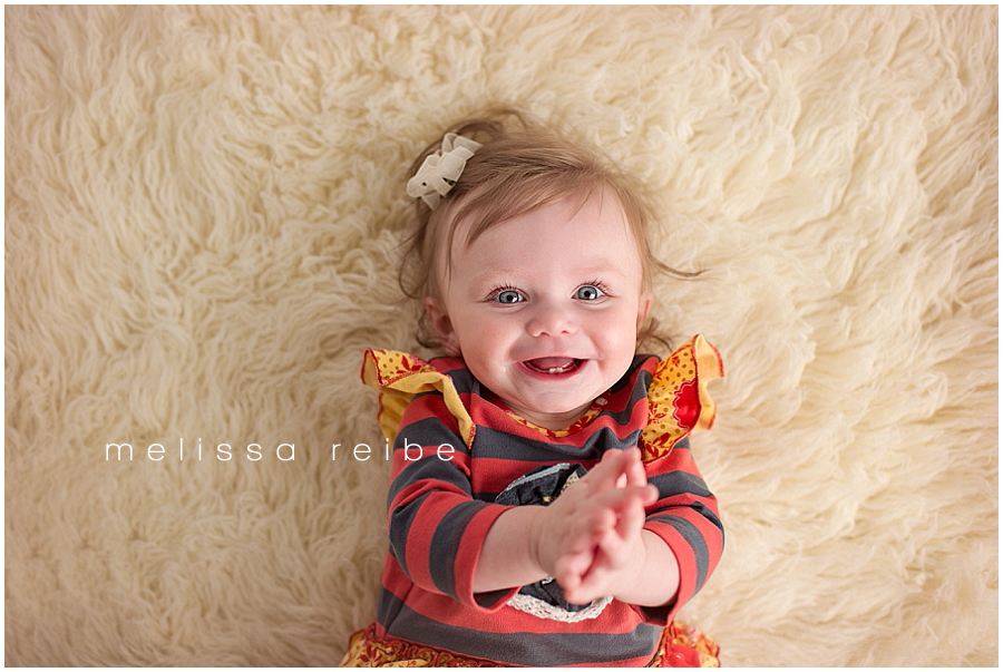 Milestone Baby Session