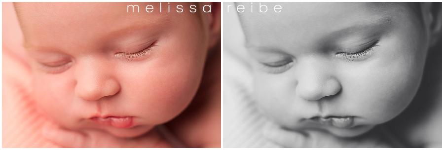 Newborn Macro Photo