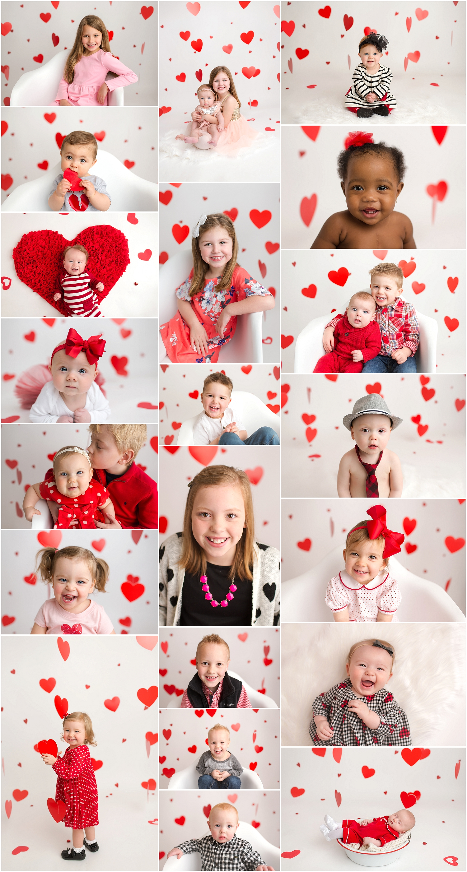 valentines pictures setup