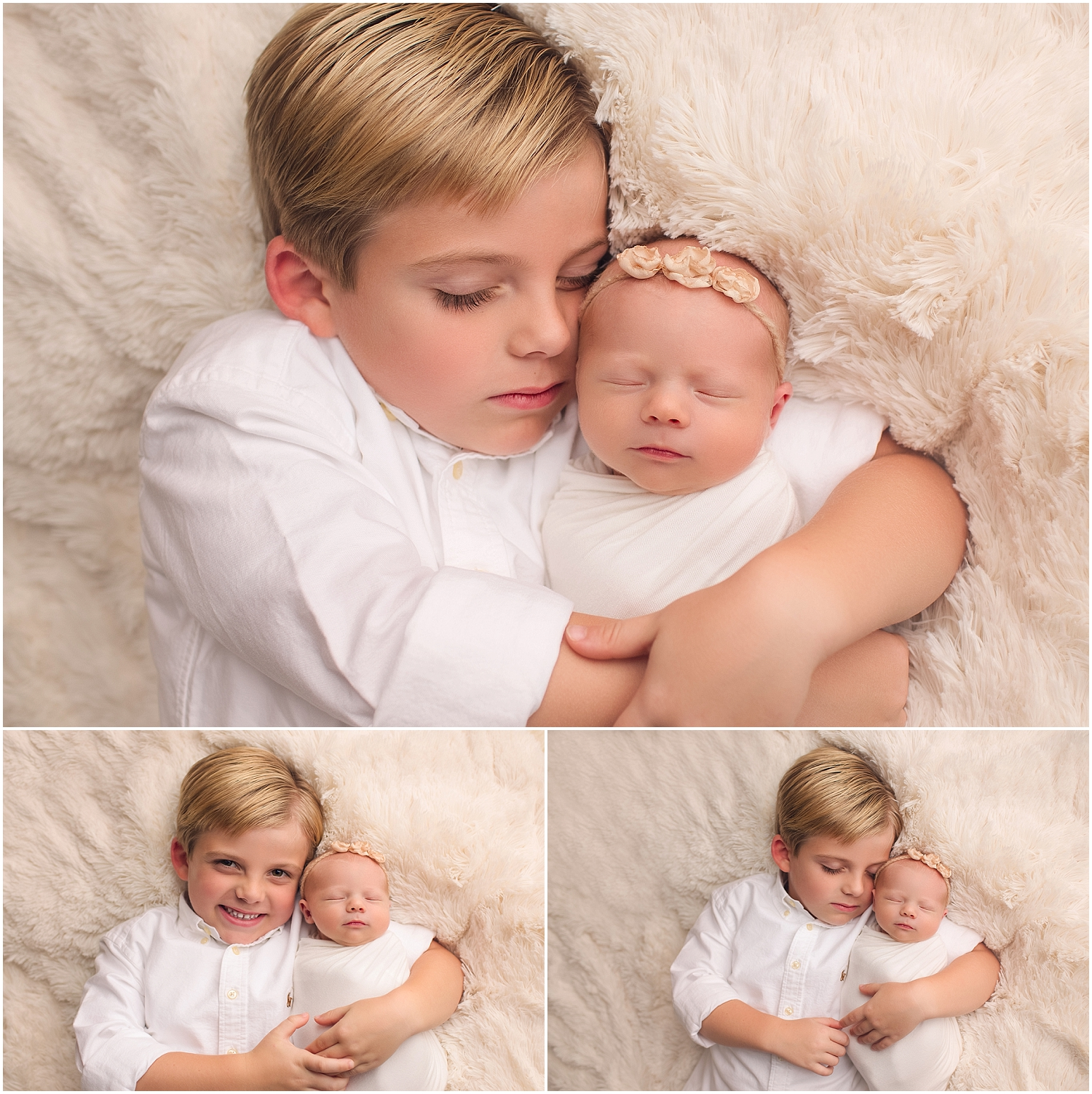 baby and big brother pictures
